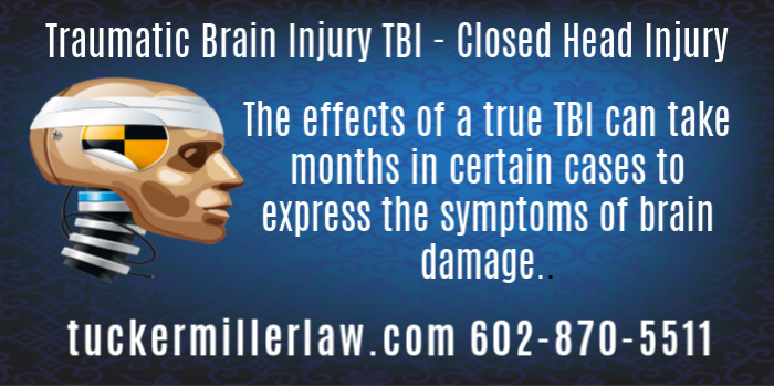 The Effects of Brain Injury May Take Months To Express Themselves