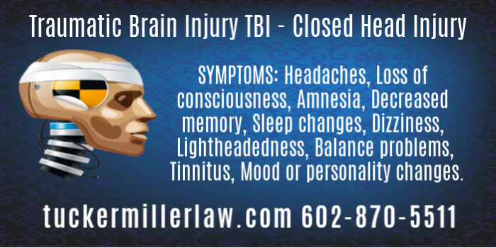 Symptoms of Traumatic Brain Injury