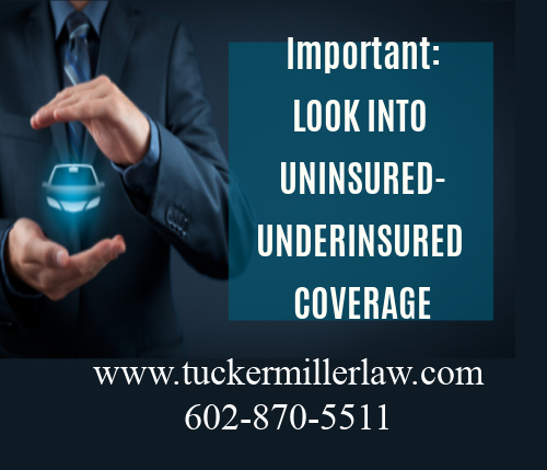 Picture stating Look into under insured policy limits