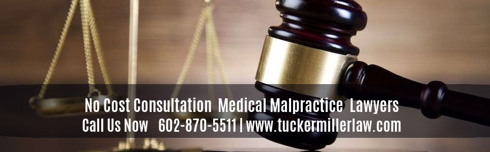 Graphic stating No Cost Consultation Medical Malpractice Lawyers