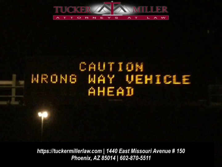 Graphic of expressway sign stating CAUTION WRONG WAY VEHICLE AHEAD