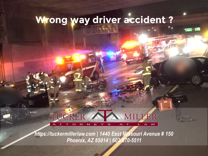 Graphic showing a wrong way car collision under an overpass