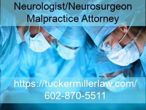 Graphic stating Neurologist_Neurosurgeon Malpractice Arizona