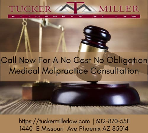 Graphic stating Call Now For A No Cost No Obligation Medical Malpractice Consultation (1)