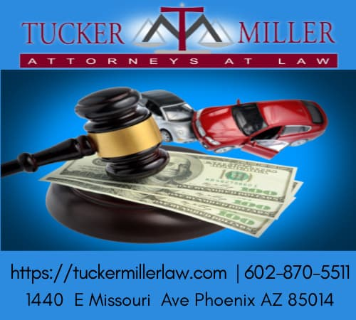 Graphic stating TUCKER MILLER LAW 602-870-5511