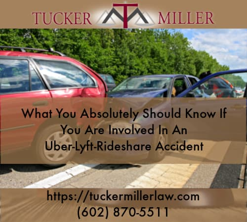 Graphic stating What-You-Absolutely-Should-Know-If-You-Are-Involved-In-An-Uber-Lyft-Rideshare-Accident.