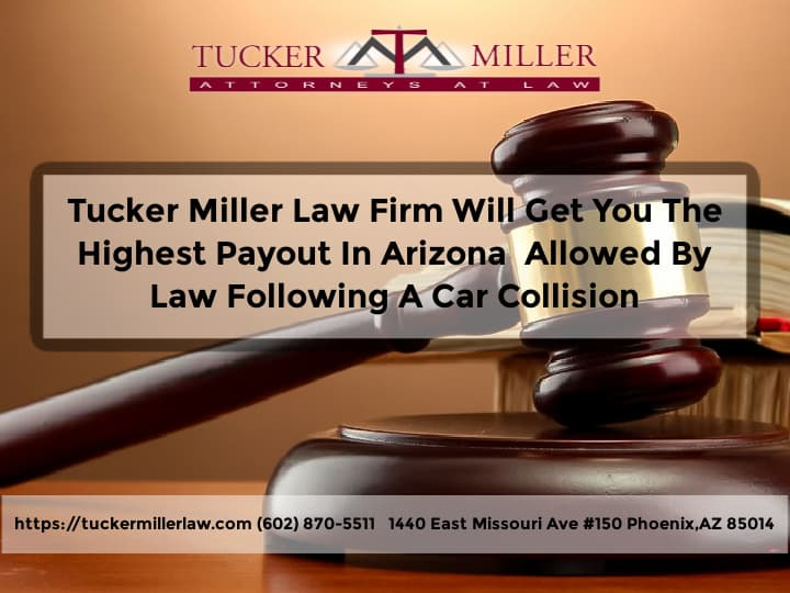 Graphic stating Tucker-Miller-Law-Firm-Following-A-Car-Collision